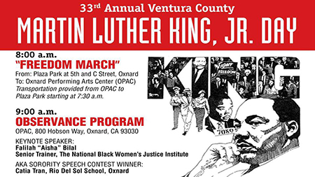 The 33rd Annual Rev Dr Martin Luther King Jr Birthday