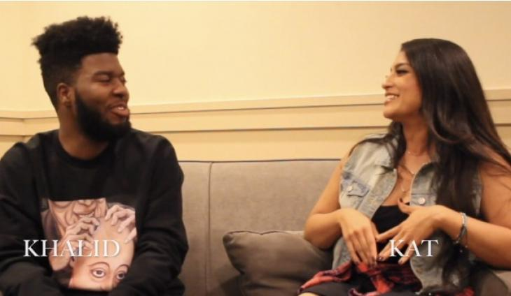 @OnAirWithKat Sits Down With KHALID Before His Show @ the SB Bowl