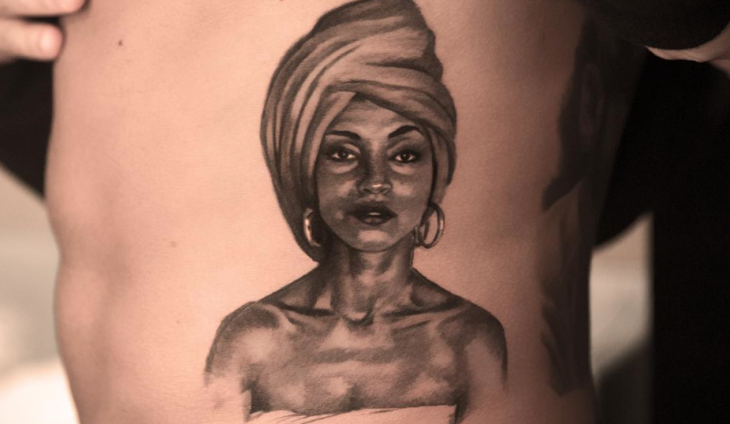 Drake Honors Sade by Getting Tattoo of Her Face